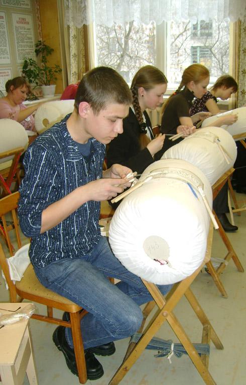 Никита Иванов, участник конкурса «Серебряная коклюшка»